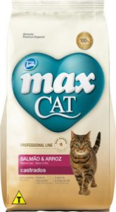 Max Cat Castrados Salmão 10kg