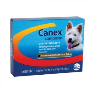Canex Composto - 4 comprimidos