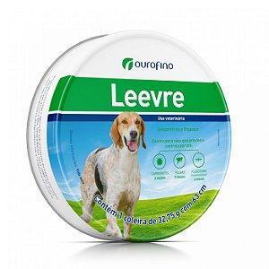 Leevre - Coleira Antiparasitária  Cães Porte Médio a Grande  63cm