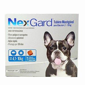 Nexgard Cães de 4,1 a 10kg