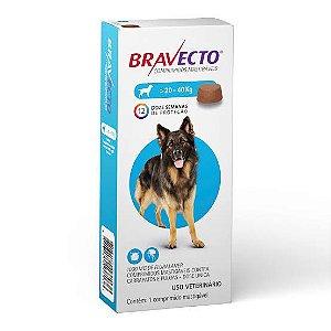 Bravecto Cães de 20 a 40kg