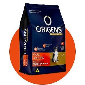 Origens Adulto Frango e Cereais 15kg