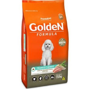 Golden Adulto Pequeno Porte Frango e Arroz 15kg