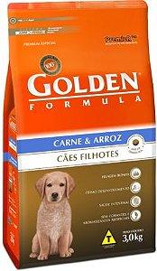 Golden Filhotes Carne e Arroz 15kg