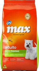 Max Adulto Peq. Porte - Buffet (Cordeiro, Frango e Vegetais)  1Kg