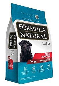 Fórmula Natural Adultos Portes Médio e Grande 15kg