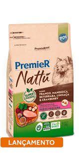 PREMIER NATTÚ CÃES ADULTOS PEQ. PORTE 2,5KG