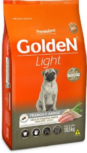 GOLDEN LIGHT PEQUENO PORTE 10KG