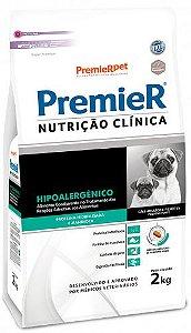 PREMIER CLÍNICA HIPOALERGÊNICO CÃES PEQUENO PORTE 2KG