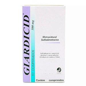 GIARDICID 500MG - 10 COMPRIMIDOS