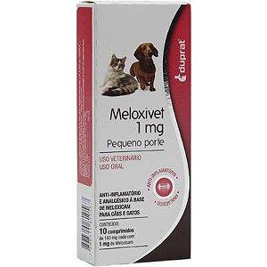 MELOXIVET 1MG - 10 COMPRIMIDOS