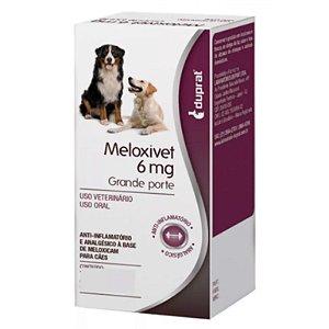 MELOXIVET 6MG - 10 COMPRIMIDOS