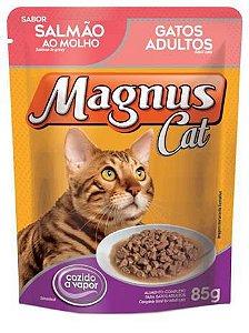 SACHÊ MAGNUS CAT CASTRADO SALMÃO 85G