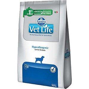 Vet Life Hypoallergenic Cães Adultos 2kg