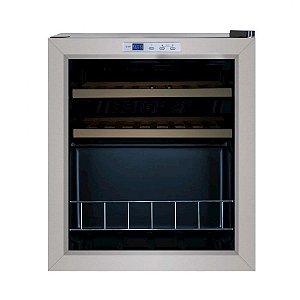 Adega Climatizada Elettromec CV16-PX3 15 Garrafas Compressor Inox-127V - CV-1FS-16-XV-1CAA