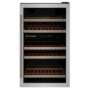 Adega Climatizada Elettromec CV-S34-2Z 34 Garrafas Controle Eletrônico Compressor Dual Zone