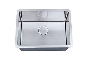Cuba de cozinha aço inox  Arell 1mm escovado S101 58,4x45,7x22,9cm