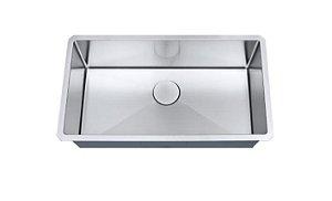Cuba de cozinha aço inox Arell 1mm escovado S105 81,3x45,7x22,9cm