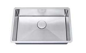 Cuba de cozinha aço inox Arell 1mm escovado S105PP 71,1x47x17,8cm