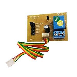 Módulo Temporizador 8 Funções Para Luz E Trava 1 Canal Garen