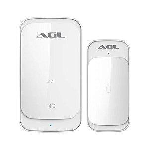 Campainha Digital Sem Fio Branca - Agl
