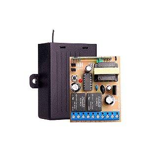 Receptor Universal com Fonte 433Mhz 1 Canal - Ipec