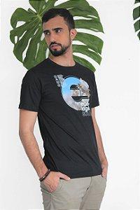 Camiseta Gola Olímpica Ecologic Soul Fio de Algodão Orgânico