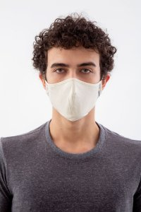 Minha Máscara Com Regulagem Malha Fio Algodão Orgânico