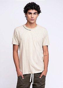 Camiseta Masculina Listrada
