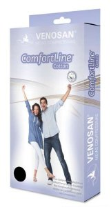 Meias Venosan Comfortline Cotton Panturrilha 30-40mmHg Longa Bege