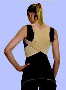 Espaldeira p/ postura em brim