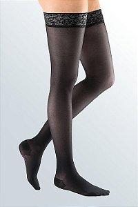 Sheer Soft Meia Coxa 15-20 mm/hg Preto