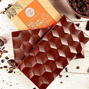 Chocolate 62% Dark Com Pitanga - Luzz Cacau 75g