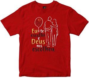 Camiseta Deus Nos Escolheu Rainha do Brasil