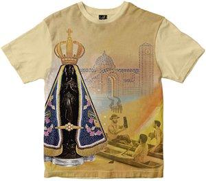 LANÇAMENTO Camiseta Festa da Padroeira Rainha do Brasil