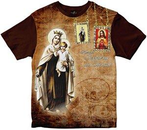Camiseta Nossa Senhora do Carmo Rainha do Brasil