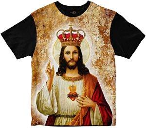 Camiseta Cristo Rei Rainha do Brasil