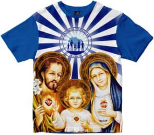 Camiseta Pastoral Familiar Rainha do Brasil