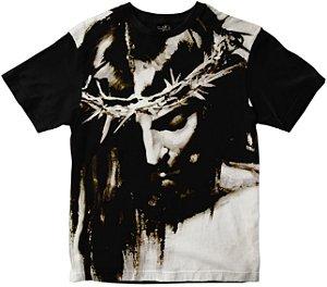 Camiseta Jesus Cristo face Rainha do Brasil