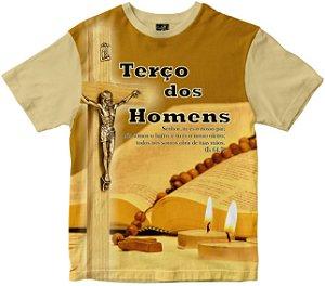 Camiseta Terço dos Homens Rainha do Brasil