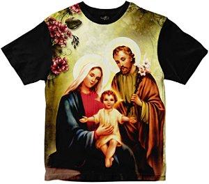 Camiseta Sagrada Família Rainha do Brasil
