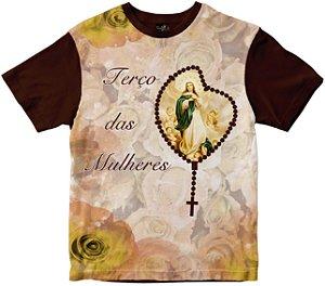 Camiseta Terço das Mulheres Rainha do Brasil
