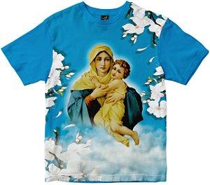 Camiseta Mãe Rainha Rainha do Brasil