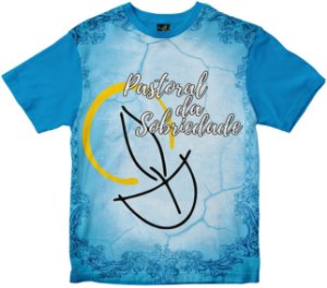 Camiseta Pastoral da Sobriedade Rainha do Brasil