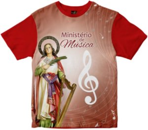 Camiseta Ministério da Música Santa Cecília Rainha do Brasil