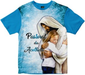 Camiseta Pastoral da Acolhida Rainha do Brasil