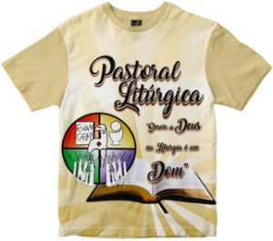 Camiseta Pastoral Litúrgica Rainha do Brasil