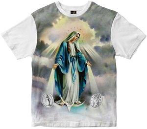 Camiseta Nossa Senhora Senhora das graças Rainha do Brasil