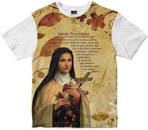 Camiseta Santa Terezinha Rainha do Brasil