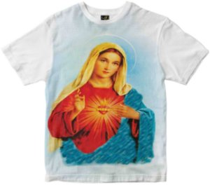 Camiseta Sagrado Coração de Maria Rainha do Brasil